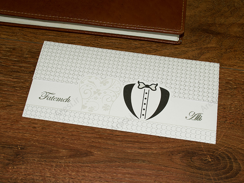 کارت عروسی فانتزی - کد ARG-688