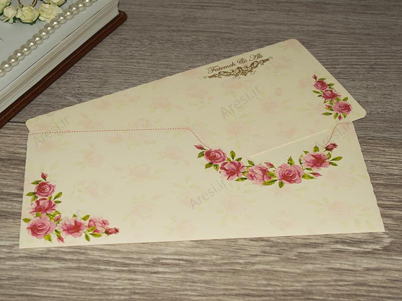 کارت عروسی لاکچری - کد ARG-765
