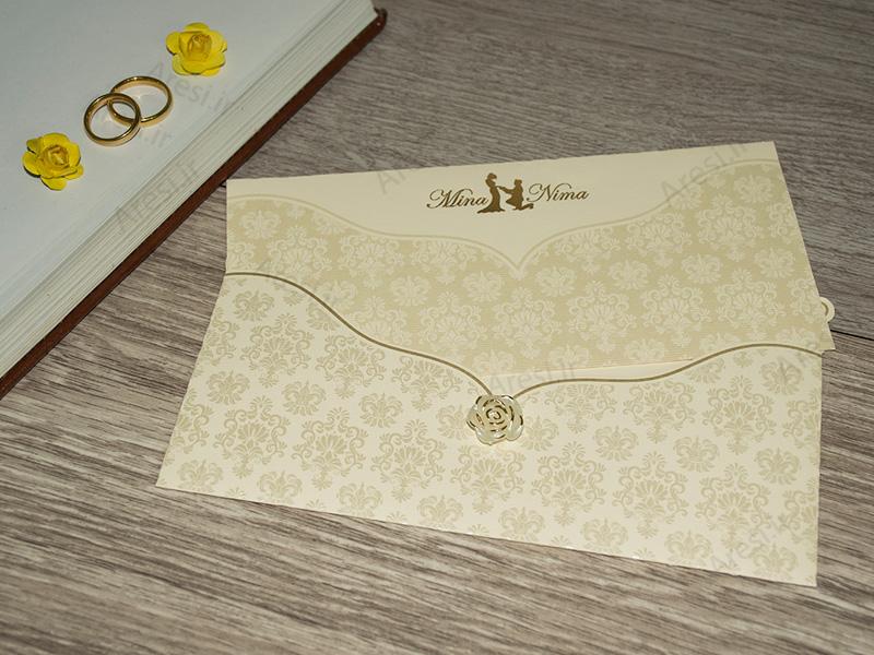 کارت عروسی لاکچری - کد ARG-786