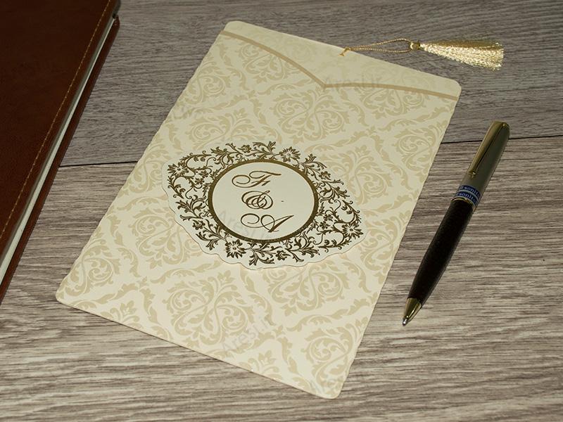 کارت عروسی کلاسیک - کد ARG-746