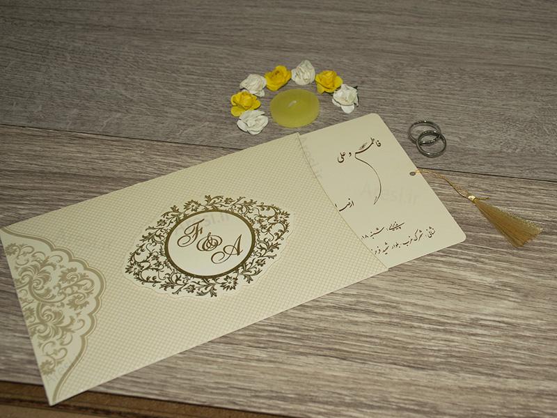 کارت عروسی کلاسیک - کد ARG-764