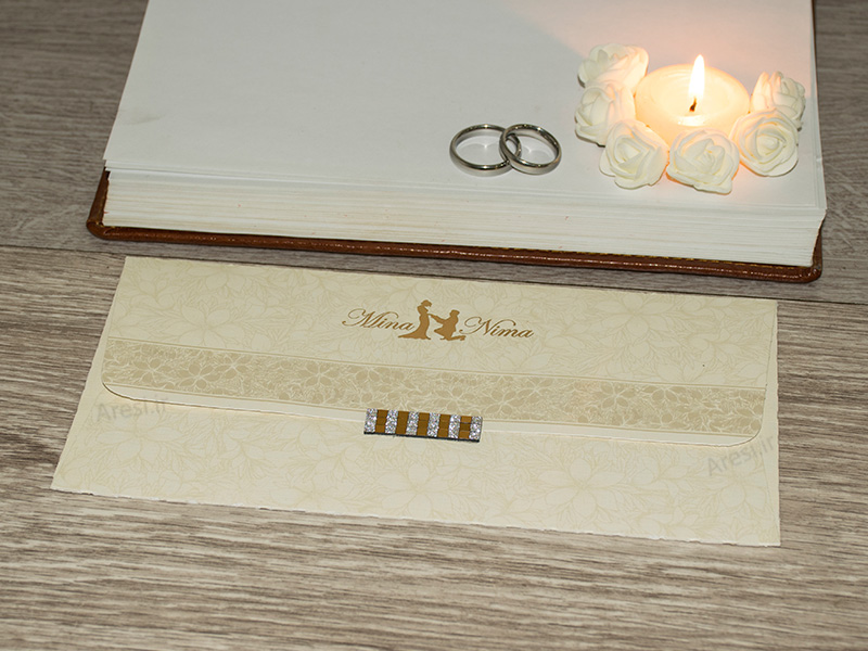 کارت عروسی کلاسیک - کد ARG-751