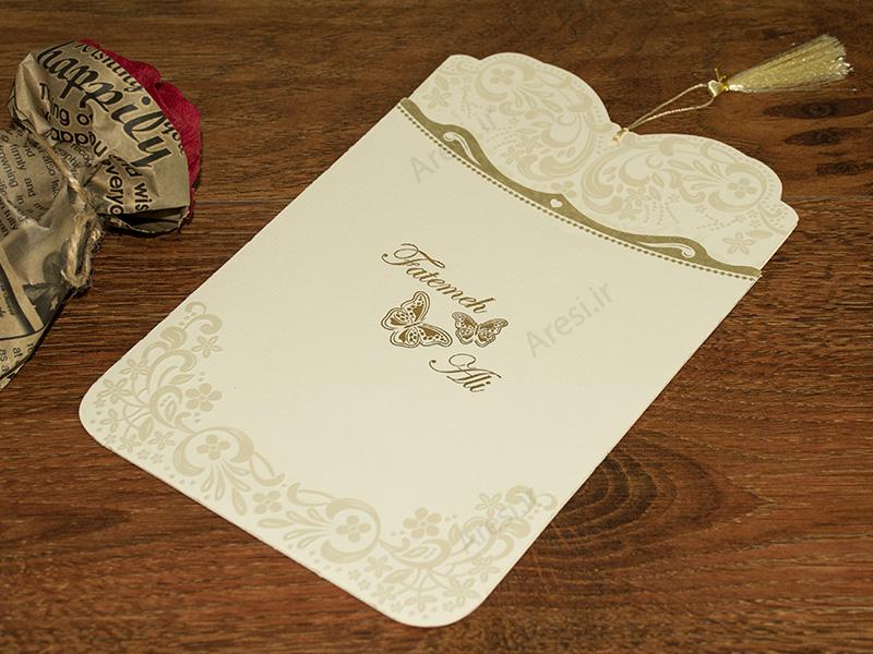 کارت عروسی کلاسیک - کد ARG-778